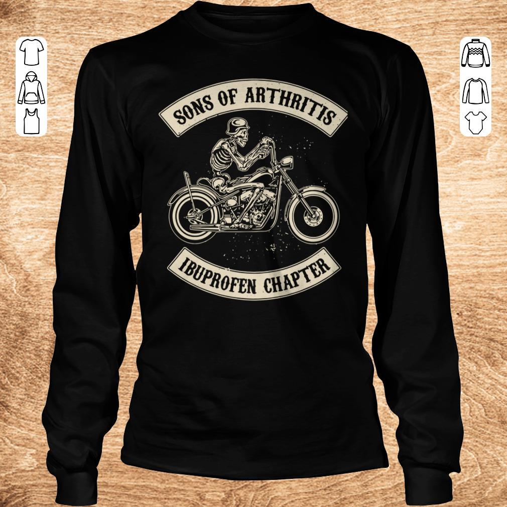 Original Sons of arthritis Ibuprofen chapter shirt longsleeve Longsleeve Tee Unisex - Original Sons of arthritis Ibuprofen chapter shirt longsleeve