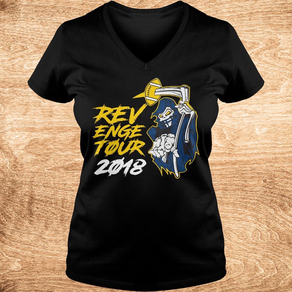 Original The death Revenge Tour 2018 shirt Ladies V Neck - Original The death Revenge Tour 2018 shirt