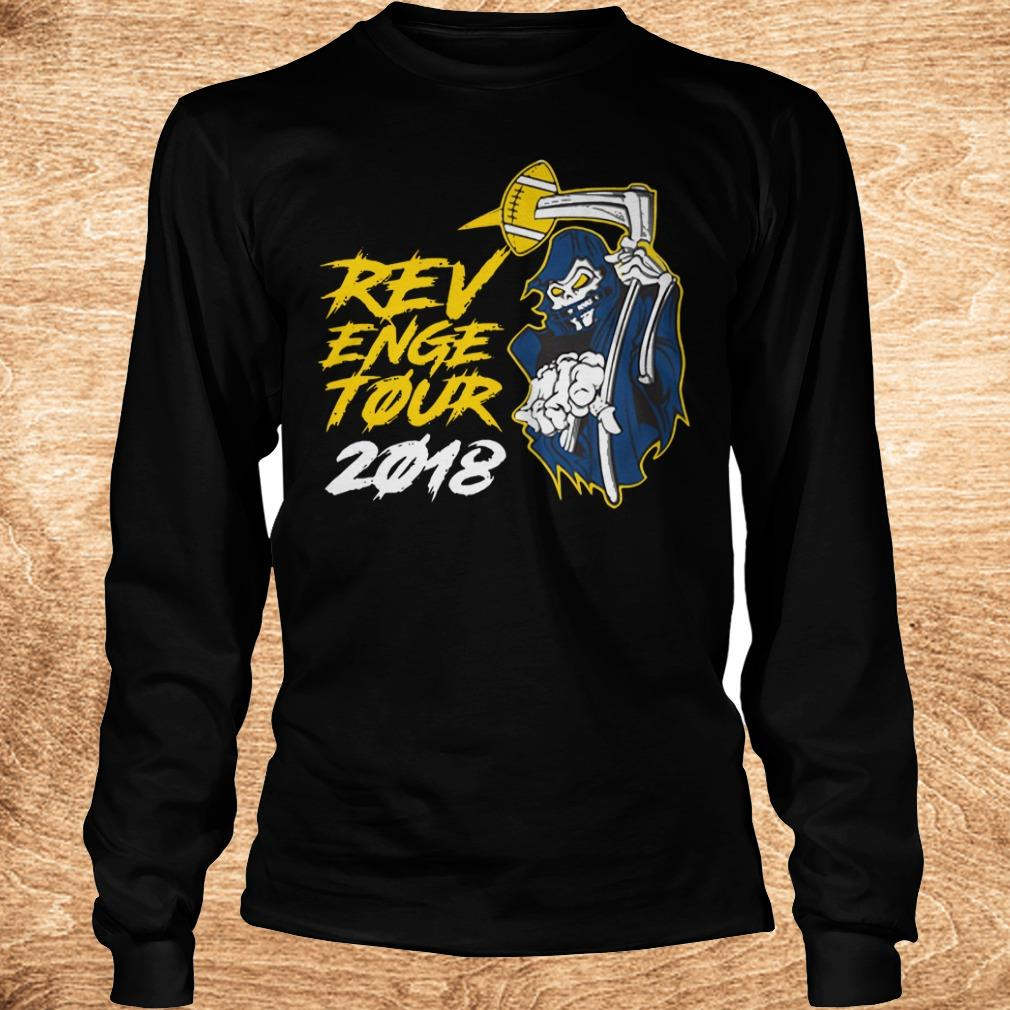 Original The death Revenge Tour 2018 shirt Longsleeve Tee Unisex - Original The death Revenge Tour 2018 shirt