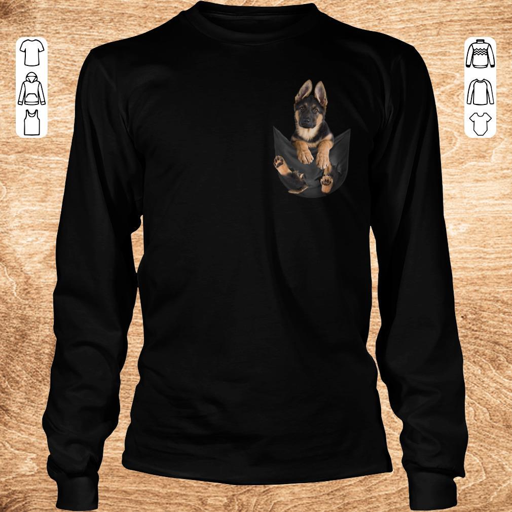 Premium German Shepherd Dog In Pocket Shirt Sweater Longsleeve Tee Unisex.jpg
