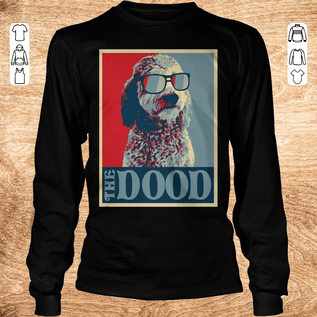 Premium Goldendoodle The Dood shirt sweater Longsleeve Tee Unisex - Premium Goldendoodle The Dood shirt sweater