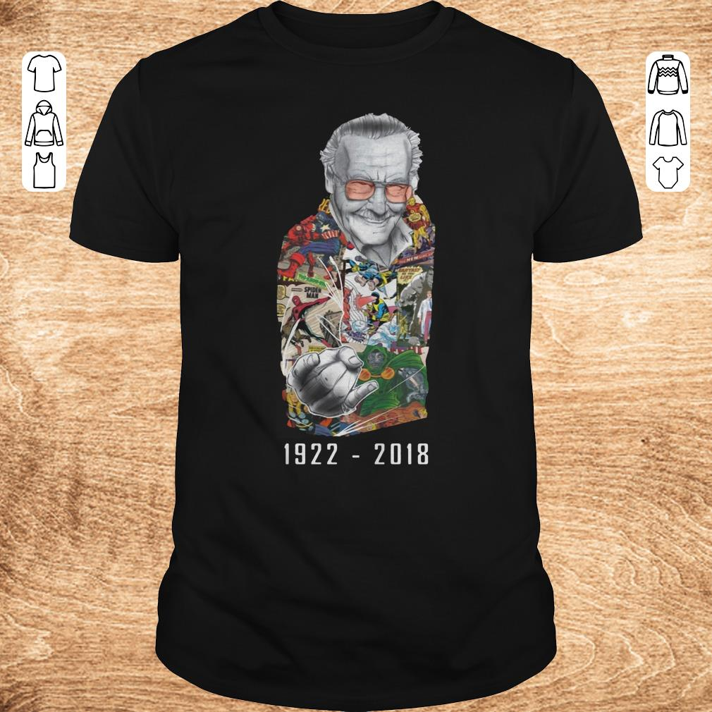 Premium RIP Stan Lee 1922 2018 shirt ladies t shirt Classic Guys Unisex Tee - Premium RIP Stan Lee 1922-2018 shirt ladies t shirt