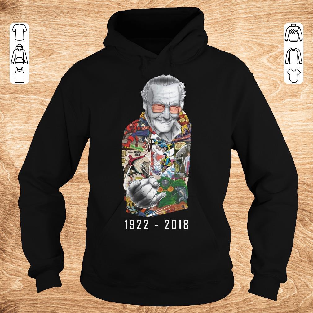 Premium RIP Stan Lee 1922 2018 shirt ladies t shirt Hoodie - Premium RIP Stan Lee 1922-2018 shirt ladies t shirt