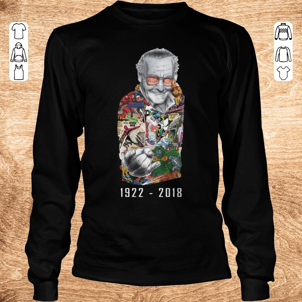 Premium RIP Stan Lee 1922 2018 shirt ladies t shirt Longsleeve Tee Unisex - Premium RIP Stan Lee 1922-2018 shirt ladies t shirt
