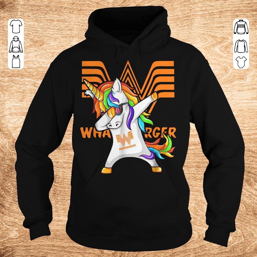 Premium Whataburger Unicorn Dabbing Shirt Sweater Hoodie.jpg