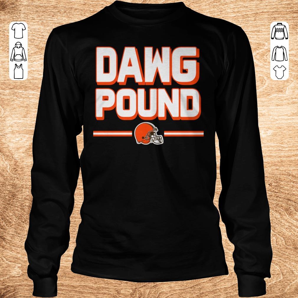Premium l Cleveland Dawg Pound shirt Longsleeve Tee Unisex - Premium l Cleveland Dawg Pound shirt