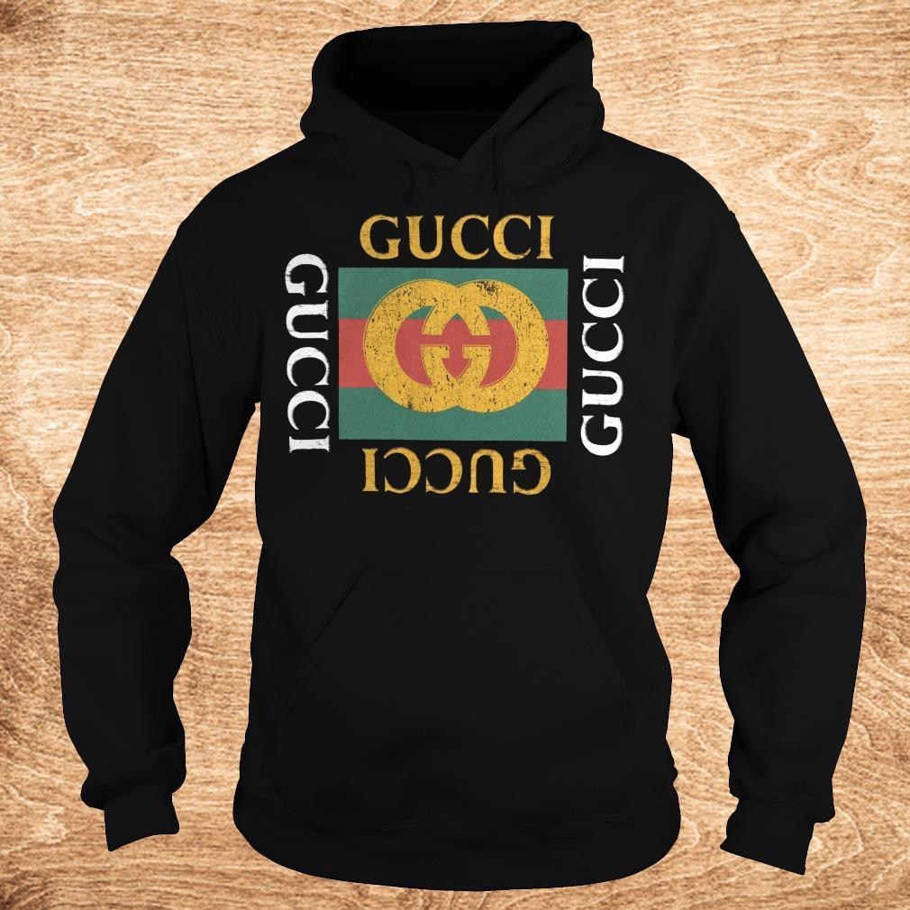 The Best Gucci logo shirt Hoodie - The Best Gucci logo shirt