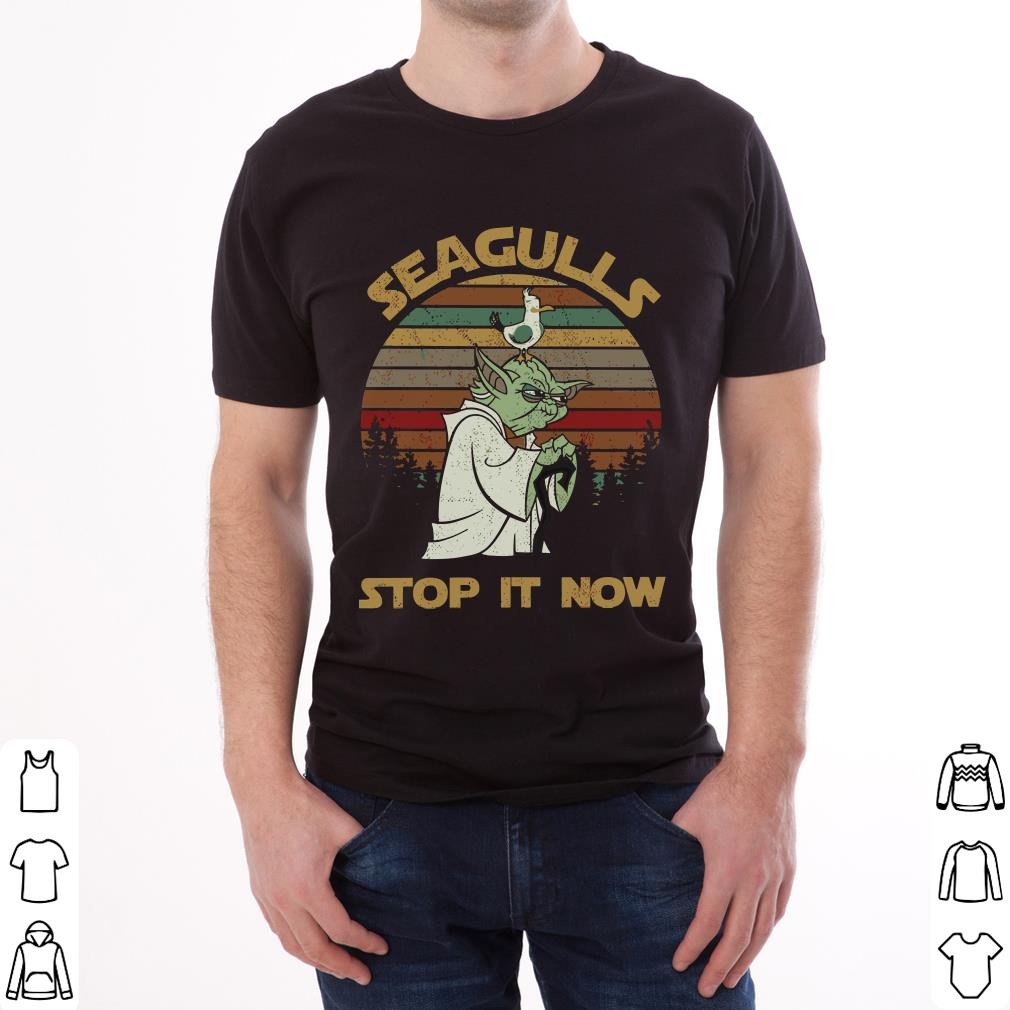 Hot Sunset Retro Style Seagulls Stop It Now Shirt 2 1.jpg