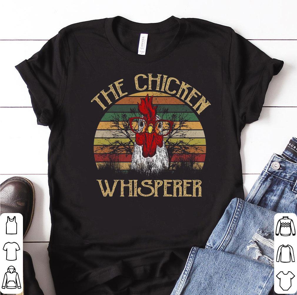 Pretty Sunset The Chicken Whisperer shirt