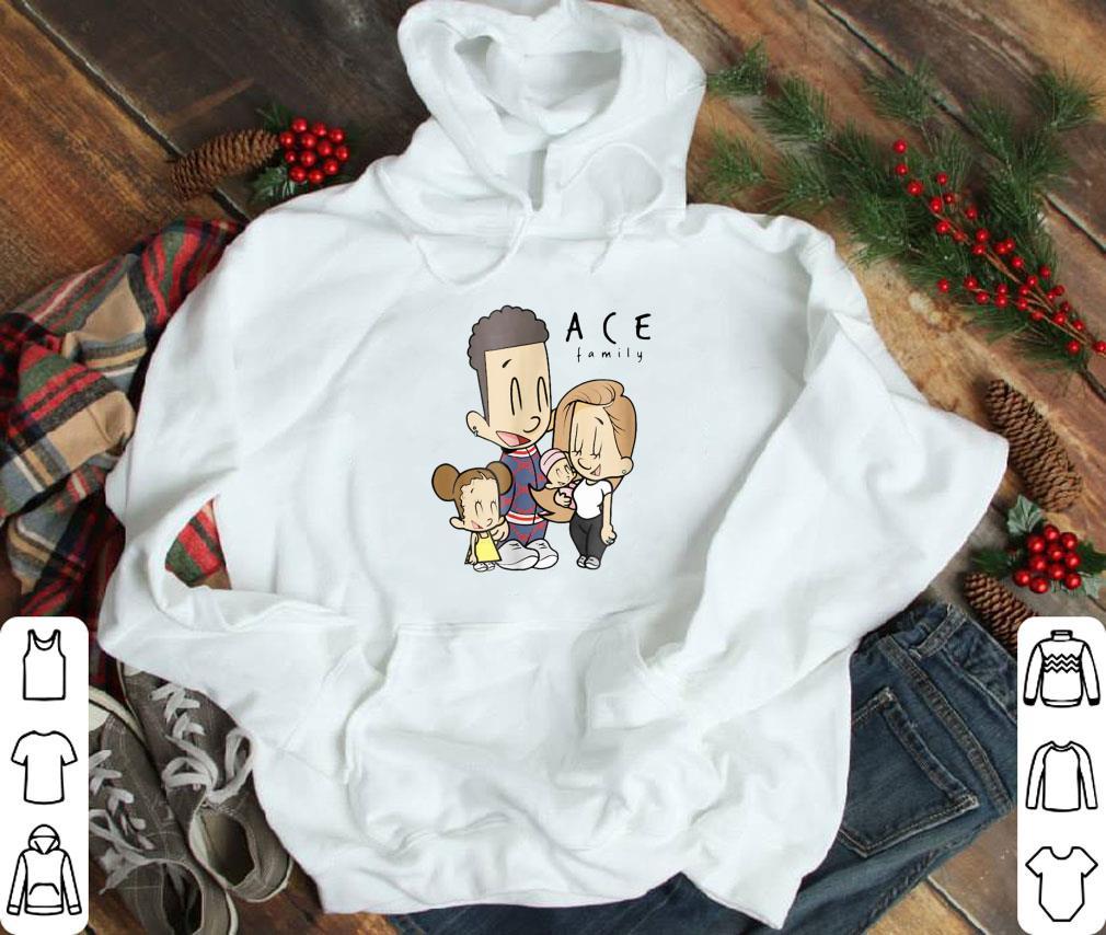 Top The Ace Family Cartoon Drawing shirt