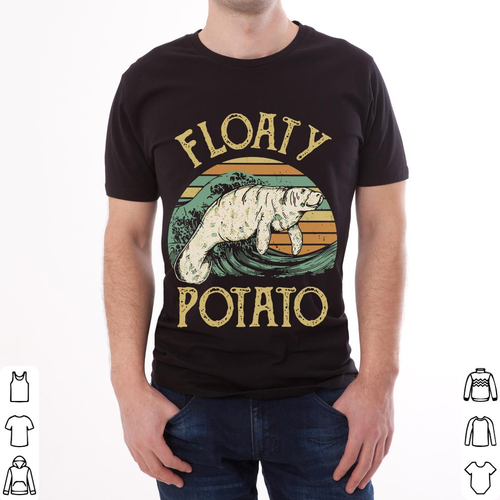 Top The Sunset Floaty Potato shirt