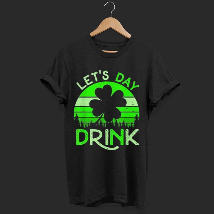 Vintage Shamrock St Patricks Day shirt