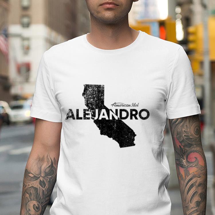 Alejandro - California shirt