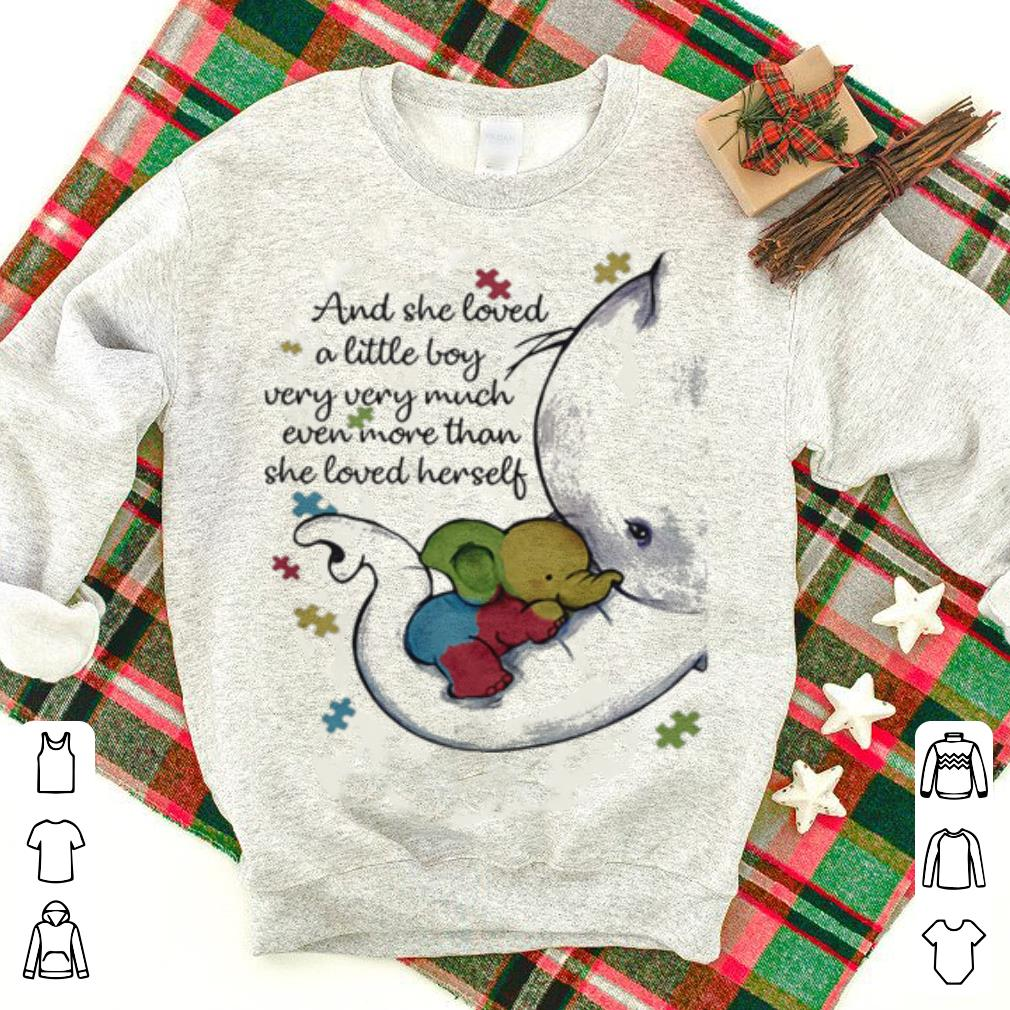 Autism and she loved a little boy very very much even more than she loved herself shirt 1 - Autism and she loved a little boy very very much even more than she loved herself shirt