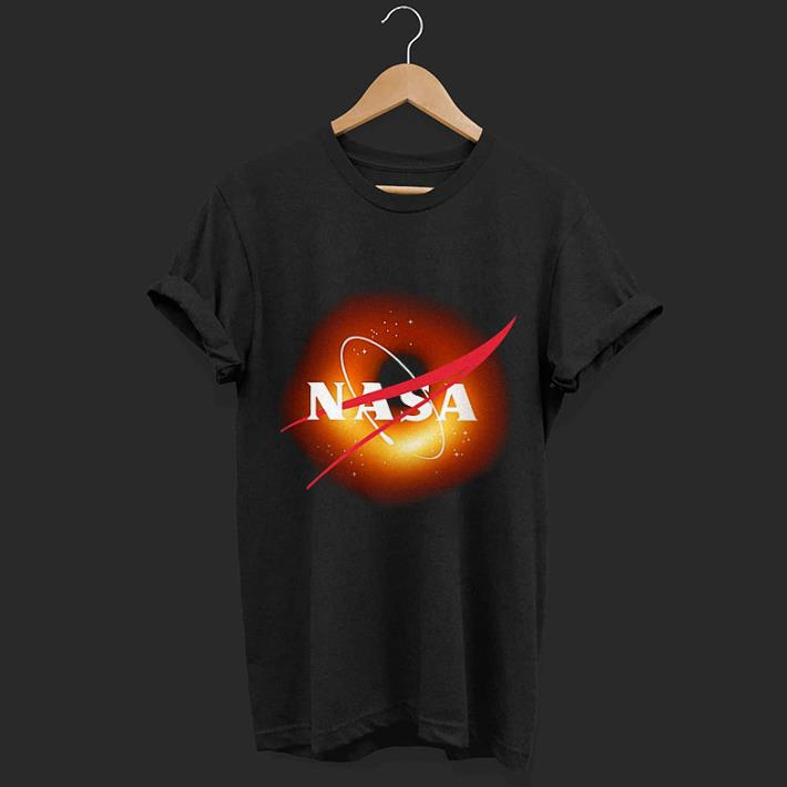Black hole NASA shirt