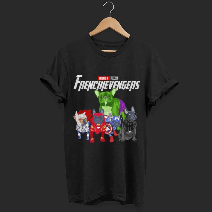Frenchievengers French Bulldog Marvel Avenger Endgame shirt