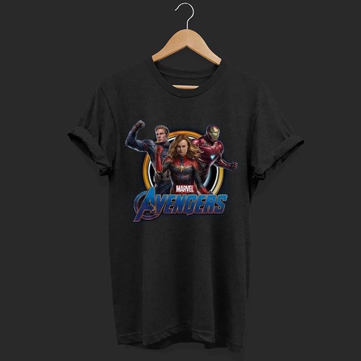 Marvel Avengers Endgame Captain Marvel Captain America Iron man shirt