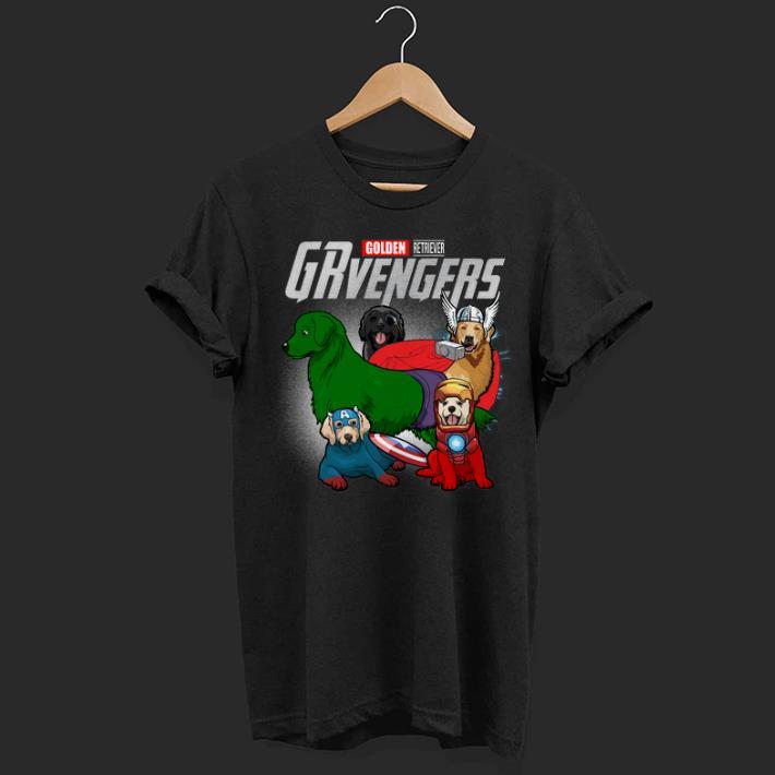 Marvel GRvengers Avengers Endgame Golden Retriever shirt