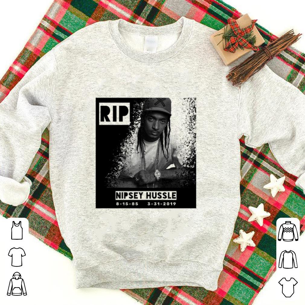 RIP Nipsey Hussle Rich N gga Crenshaw 1985-2019 shirt