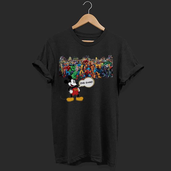 Walt Disney Mickey Mouse Avengers Endgame shirt 1 - Walt Disney Mickey Mouse Avengers Endgame shirt