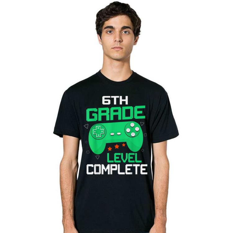 6th Grade Level Complete Handle Game shirt