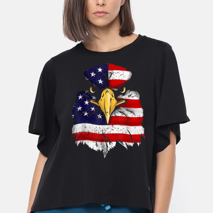 American Flag Bald Eagle Patriotic Freedom shirt