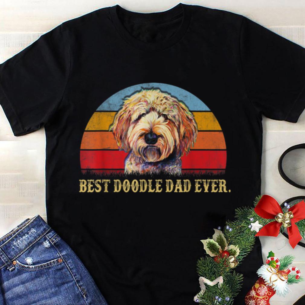 Awesome Best Doodle Dad Ever Vintage shirt 1 - Awesome Best Doodle Dad Ever Vintage shirt