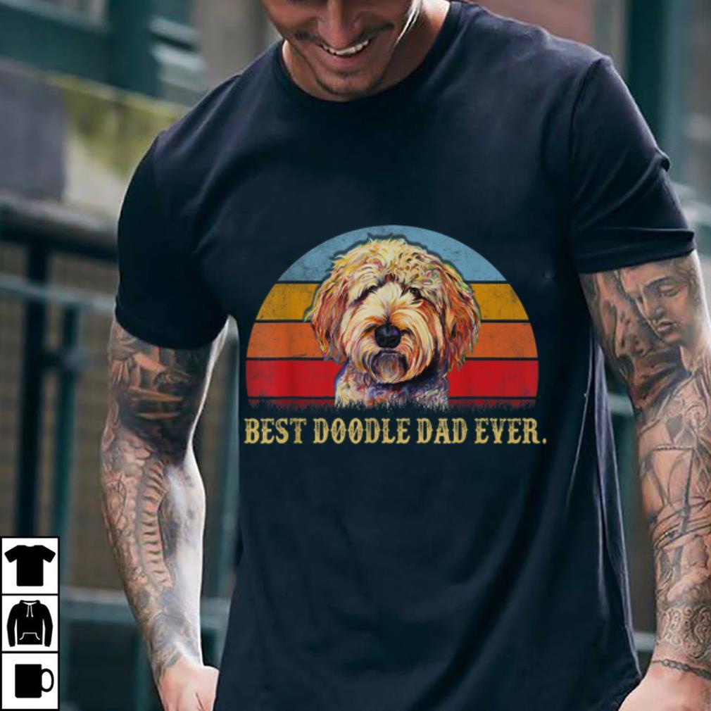 Awesome Best Doodle Dad Ever Vintage shirt