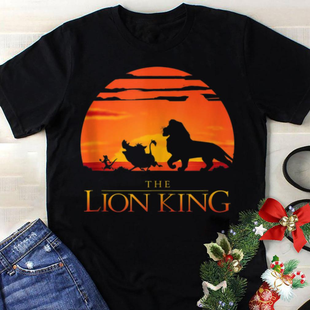Awesome Disney Lion King Classic Sunset Walk shirt
