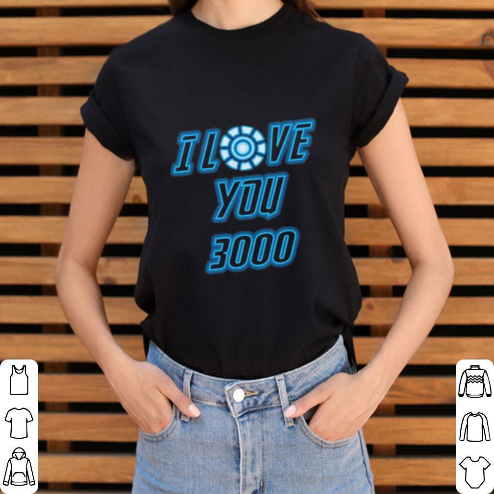Awesome  I Love You 3000 Tony Stark Avengers Endgame Iron Man shirt