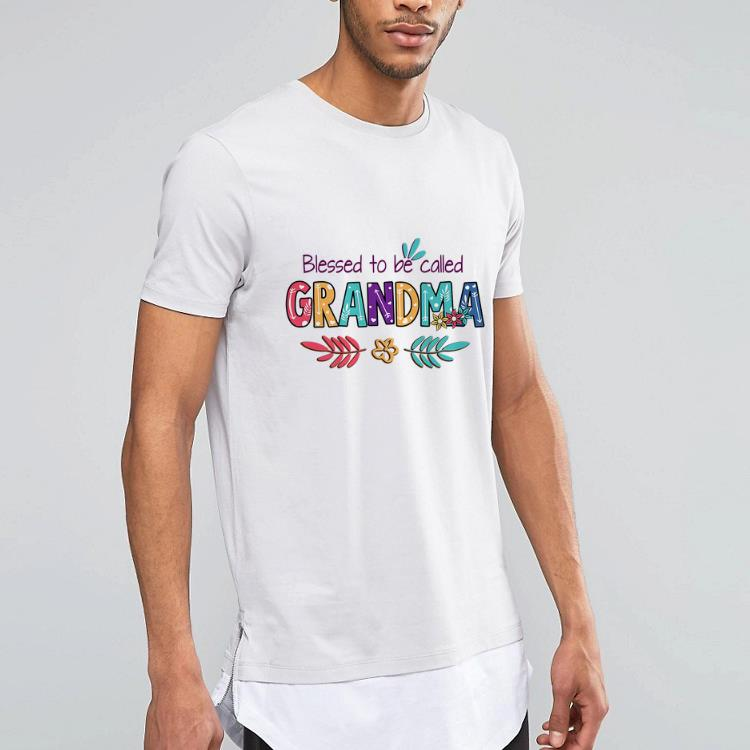 Blessed To Be Called Grandma Mother's day shirt