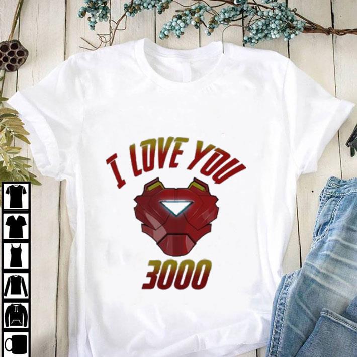 Hot I Love You 3000 Iron Man Avengers Endgame Tony Stark shirt