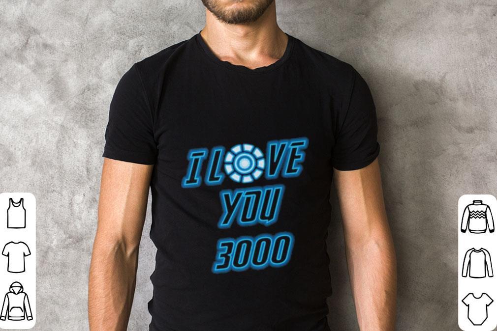I Love You 3000 Tony Stark Avengers Endgame Iron Man shirt