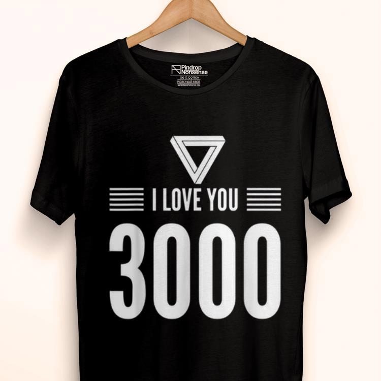 Iron man I Love You 3000 Fathers Day shirt 1 - Iron man I Love You 3000 Fathers Day shirt