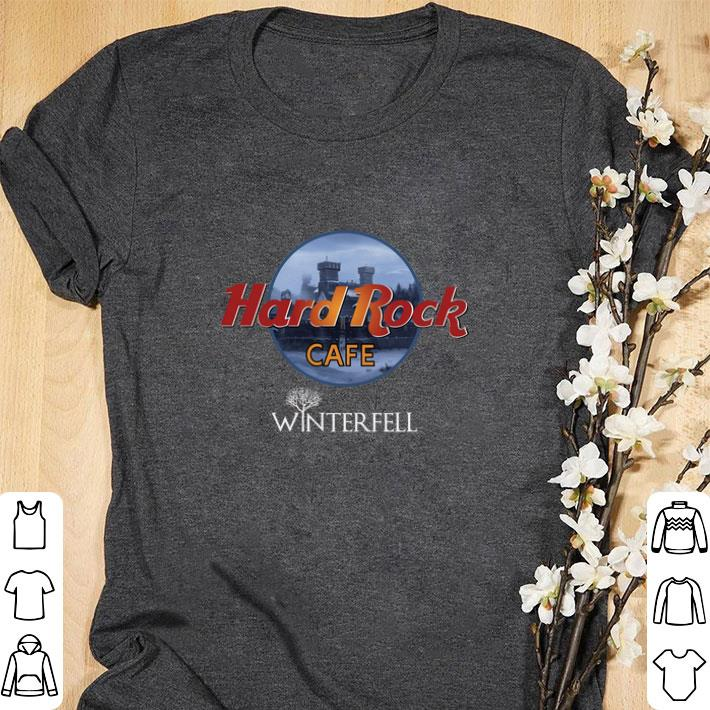 Nice Hard Rock cafe Winterfell Game Of Thrones shirt