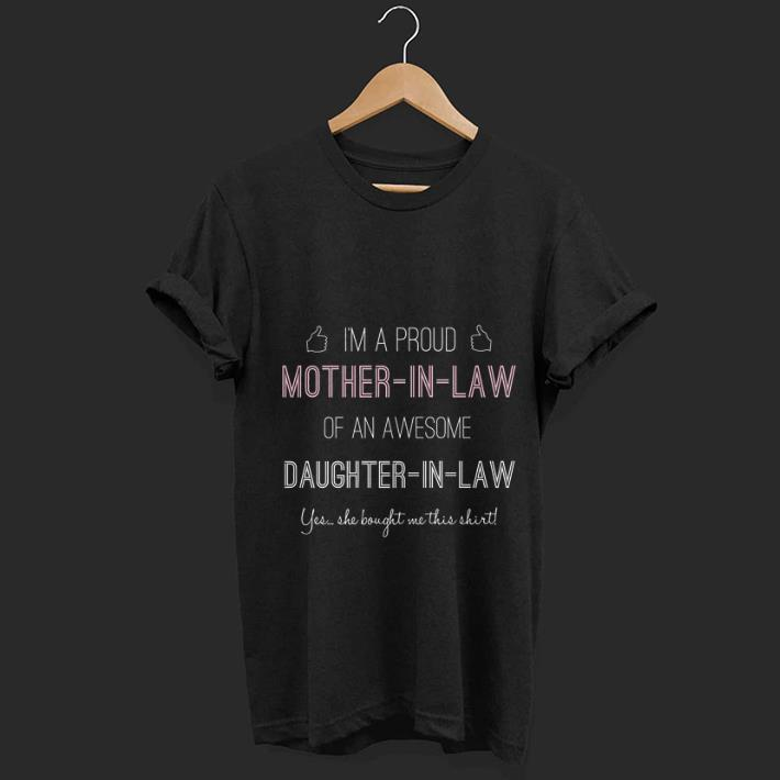 Nice Proud Mother In Law From Daughter In Law Premium shirt 1 - Nice Proud Mother-In-Law From Daughter-In-Law Premium shirt