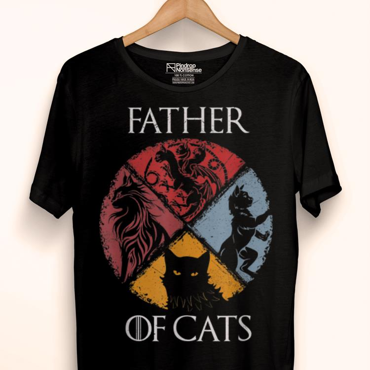 Official Father Of Cast GOT Style Father's Day Shirt