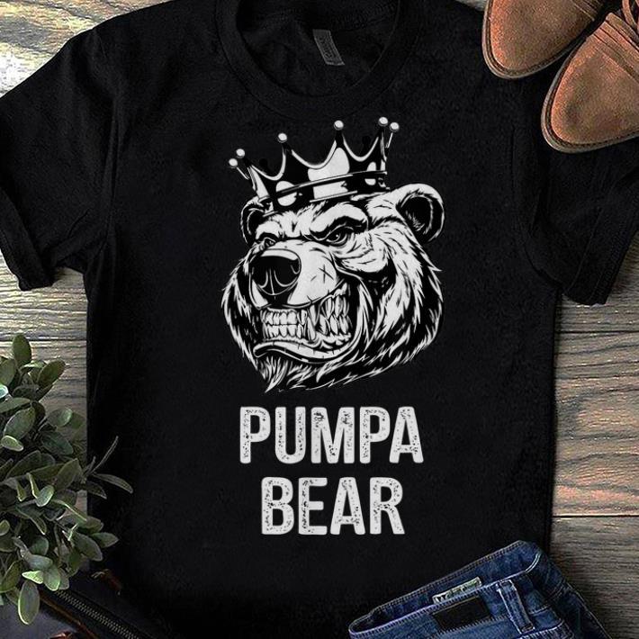 Official Funny Father's Day Gifts Grandpa Papa Pumpa Bear Shirt