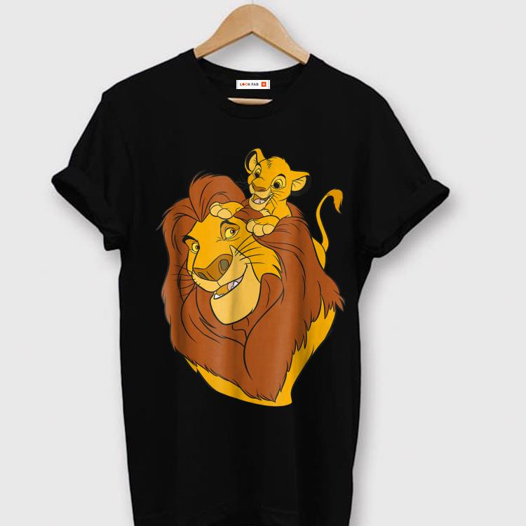 de10061e Original Disney The Lion King Simba and Mufasa Father and Son Dad day Shirt
