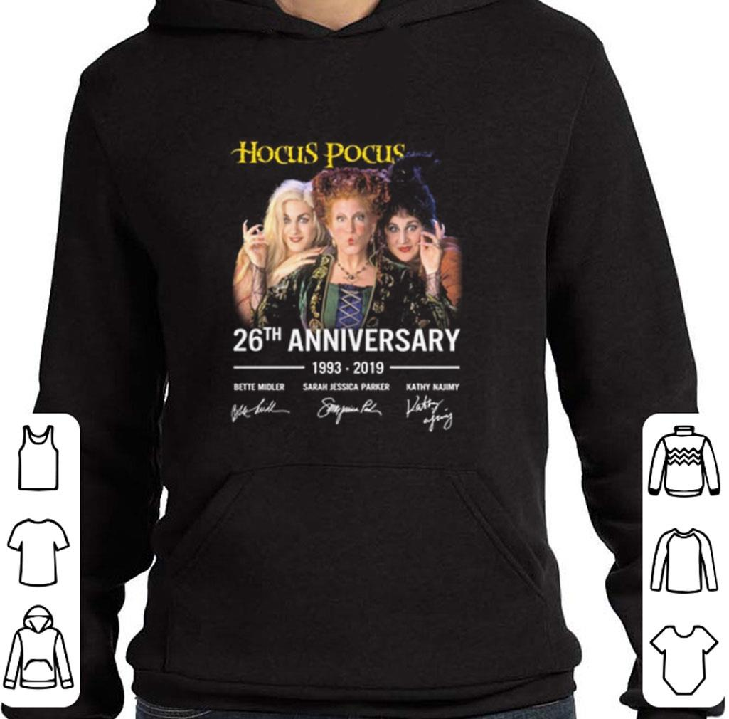 Original Hocus Pocus 26th anniversary 1993 2019 signatures shirt 4 - Original Hocus Pocus 26th anniversary 1993-2019 signatures shirt