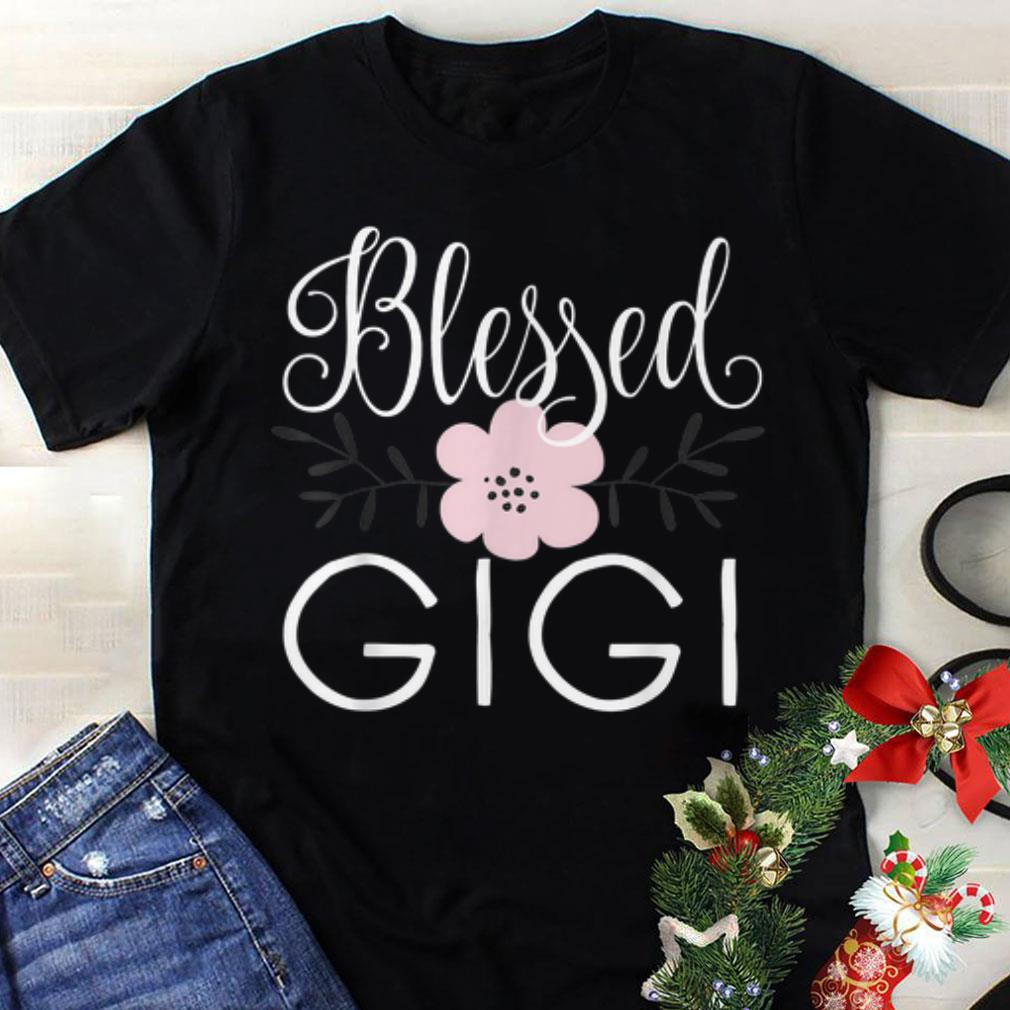 Premium Blessed Gigi Grandma Mother day shirt
