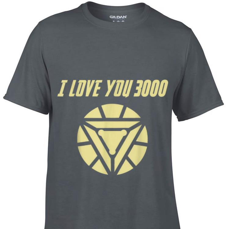 Premium Daughter and Dad I love you 3000 Arc Reactor End game shirt 1 - Premium Daughter and Dad I love you 3000 Arc Reactor End game shirt