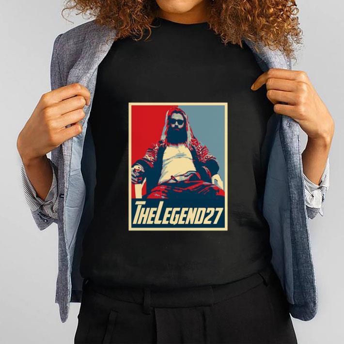 Pretty Thor Fat The Legend 27 Avenger Endgame Vintage shirt