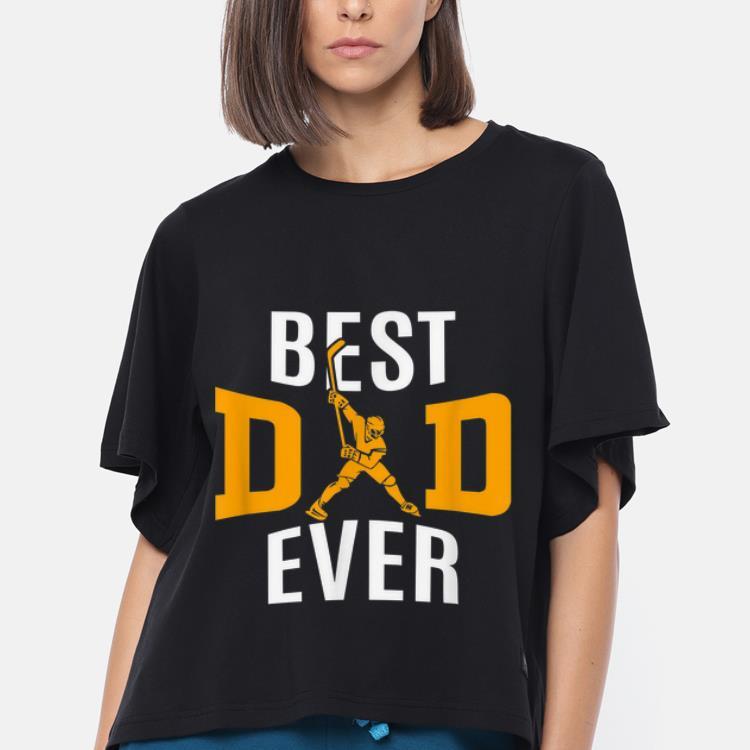 Top Best Dad Ever Papa Hockey Shirt