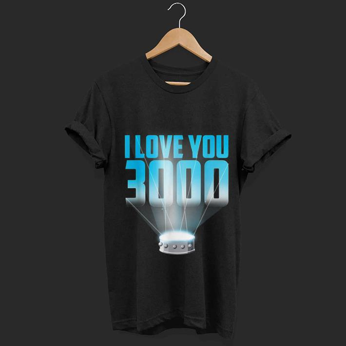 Top I Love You 3000 Iron man Arc Reactor shirt