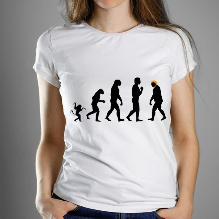 Trump Evolution Resist Donald Trump shirt