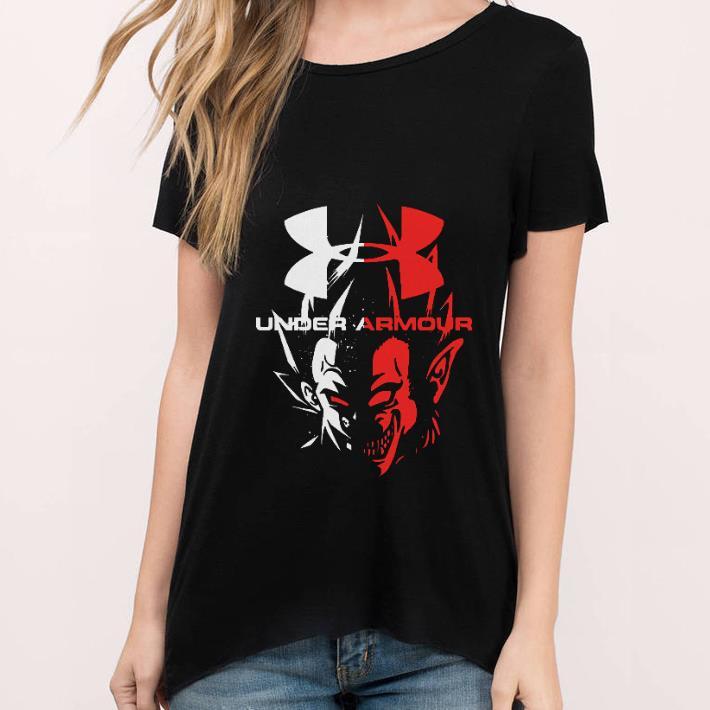 Under Armour Dragon Ball Vegeta shirt