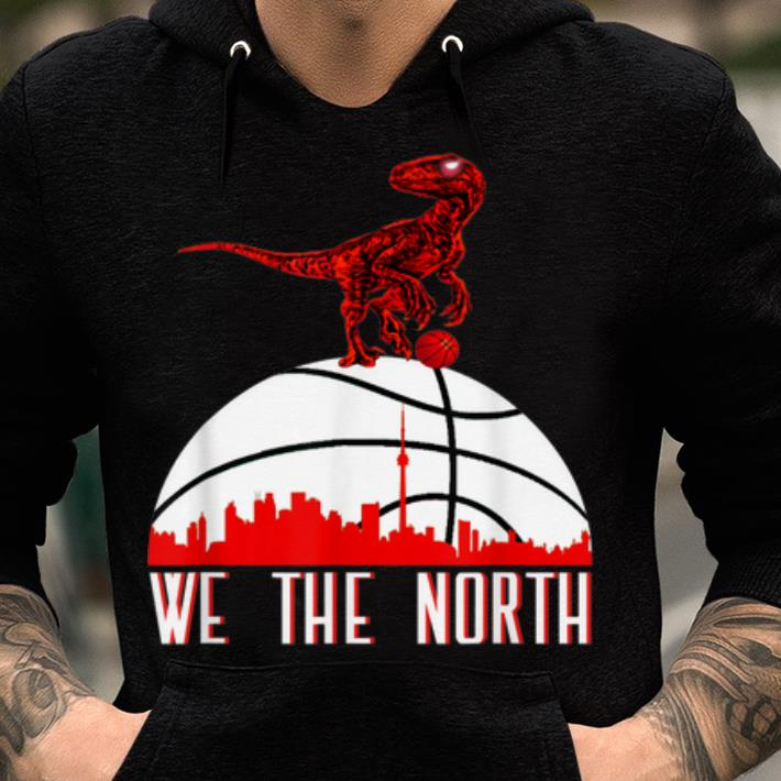 We the north NBA baketball Toronto raptors shirt
