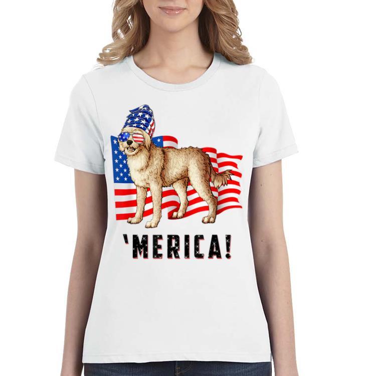 4th Of July Cockapoo Dog Merica Tee shirt