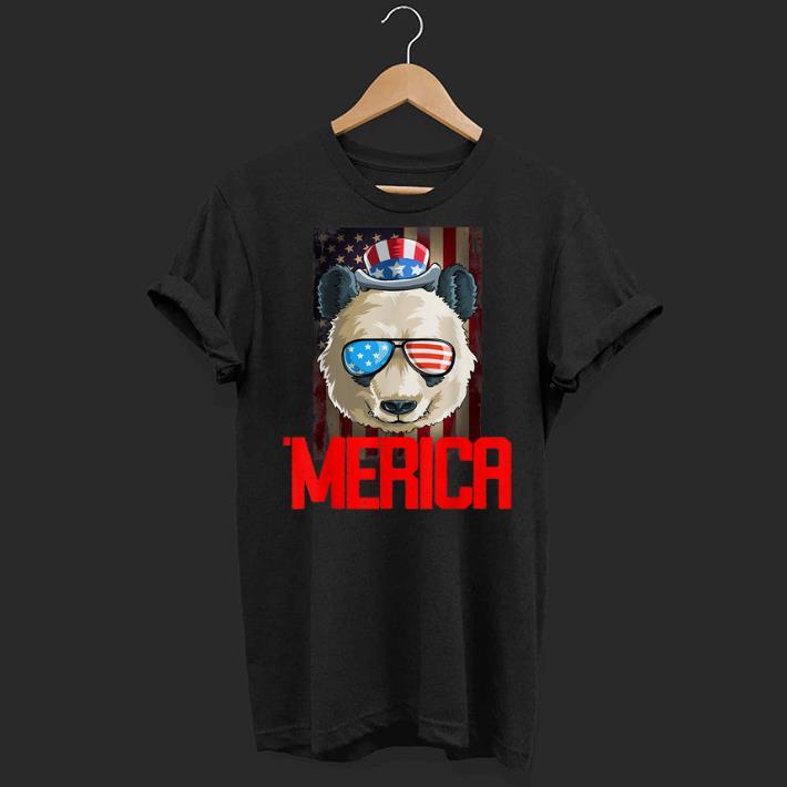 4th Of July Red Merica Panda Gift shirt 1 - 4th Of July Red Merica Panda Gift shirt